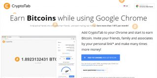 Earn Free Bitcoins | Add CryptoTab to your Chrome